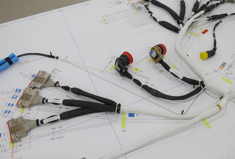 Closed Bundle & Overmold Wire Harness Construction | CIA&DCIA&D